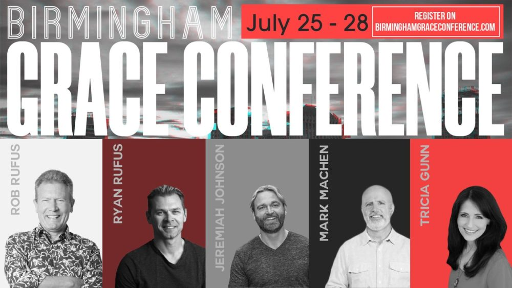 B'ham Grace Conference 2019: Session 6 (Rob Rufus) Image